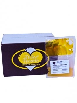 Granizado de limón concentrado para 10 litros