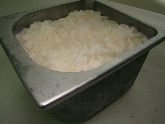 Helado de Yogurt natural receta tracional